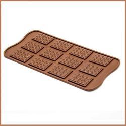Форма для конфет Изи-шок Плитка Silikomart 1