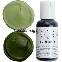 Краситель гелевый AmeriColor Авокадо Avocado 21 г. 1
