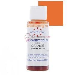 Краситель для шоколада Americolor Оранжевый 56 г. 1