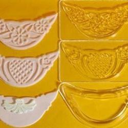 Выемка-штамп для бордюров и оборок торта  Ажур 3 шт. 1