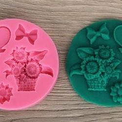 Молд силиконовый Элементы декора 10 см. 1