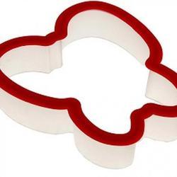 Формочка для печенья Бабочка 9х9 см. пластик 1