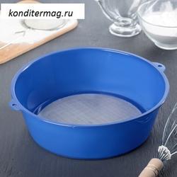 Сито d-24 см. для муки пластик 1