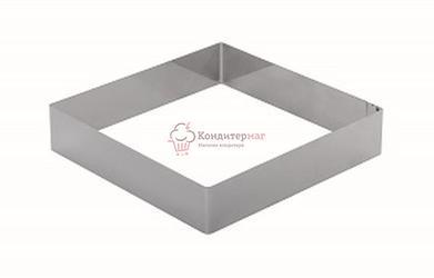 Форма Квадрат 20х20х6 см. 1