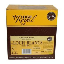 Шоколад белый 30% в галетах LouisBlancsDGFRoyal 250 г. 1