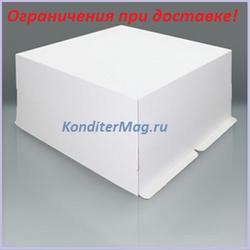 Коробка для торта 60х60х35 см. Белая 1