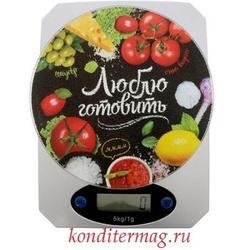 Весы кухонные электронные Люблю готовить до 5 кг. 1