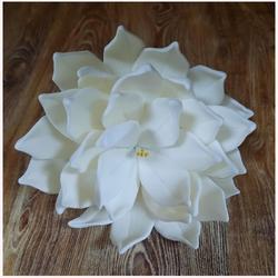 Украшение сахарное Цветок Хризантема белая 7 см. 1