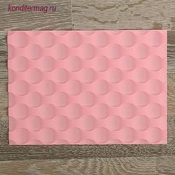 Мат текстурный для мастики 25х19 см. Ролле силикон 1