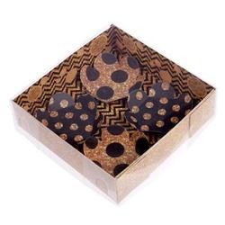 Упаковка для конфет и печенья Сладость золота 12х12 см. 1