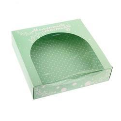 Коробка для сладостей 20х20 см. Моменты счастья 1