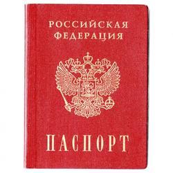 Вафельная картинка Паспорт 20х15 см. 1