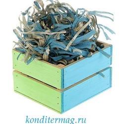Наполнитель для пряников голубой 50 г. бумага 1