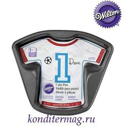 Форма для выпечки Футболка 31х24 см. металл 1