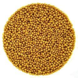 Шарики сахарные золото 1 мм. 50 г. Tortora 1