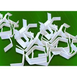 Клип-лента белая в нарезке 5 см загнутая 20 шт. 1