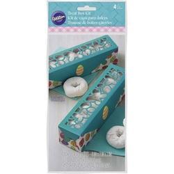 Коробка для макаронс Пасхальные яйца 20х5 см. 1 шт. Вилтон 1
