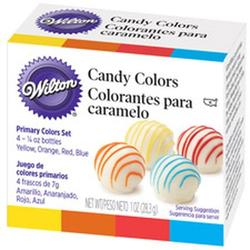 Краситель пищевой для шоколада набор 4х7 г. Wilton 1