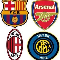 Вафельная картинка Футбол символы 1