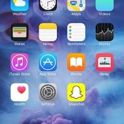 Вафельная картинка Айфон 2 1