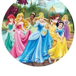 Вафельная картинка Принцессы 1