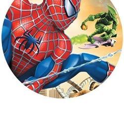 Вафельная картинка Человек Паук и Зеленый Гоблин 1