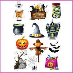 Вафельная картинка Хеллоуин 1 1