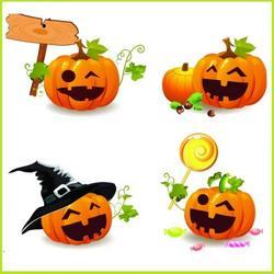 Вафельная картинка Хеллоуин 4 1