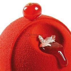 Аэрозоль шоколадный велюр Дольче Велюто красный 250 г. 2