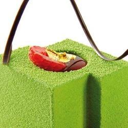 Шоколадный велюр Дольче Велюто зеленый 400 мл. 1