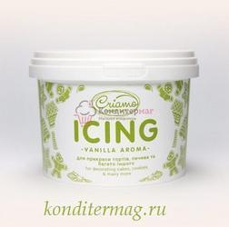 Айсинг для пряников Криамо зеленый 100 г. 1