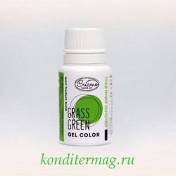 Краситель гелевый Криамо зеленый травяной 10 г. 1