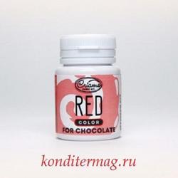 Краситель для шоколада Криамо красный 18 г. 1