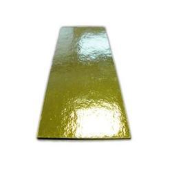 Подложка под торт 0,8 мм. 13х4,5 см. 10 шт. зол 1