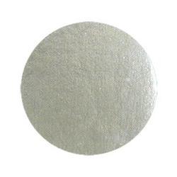 Подложка под торт 0,8 мм. 8 см. серебро 100 шт. 1