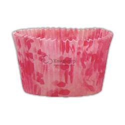 Форма бумажная Трюфель розовая 55х42 мм. высокая 50 шт. 1