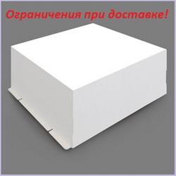 Коробка для торта 50х50х25 см. Белая 1