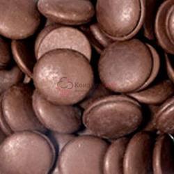 Глазурь кондитерская темная Шоколадные диски Италика 200 г. 1