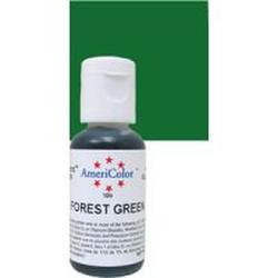 Краситель пищевой AmeriColor Зеленый лес (Forest Green) 21 г. 0248 2