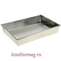 Противень для выпечки 23х36х6 см. жесть Доляна 1