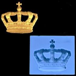 Молд силиконовый Корона 6х5,5 см. 1