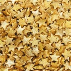 Посыпка сахарная Звезды золотые перлам. 90 г. 1