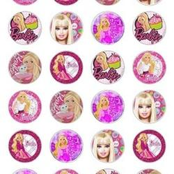 Вафельная картинка Барби 1