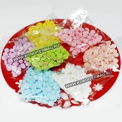 Украшение сахарное Безе мини 1,5 см. белое 100 шт. 40 г. 1