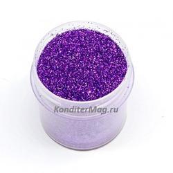 Блестки декоративные Фиолетовые 10 г. 1