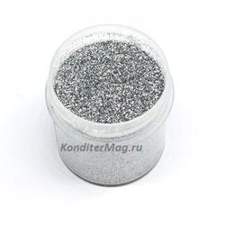 Блестки декоративные Серебро 10 г. 1