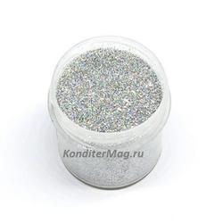 Блестки декоративные Супер-Серебро 10 г. 1