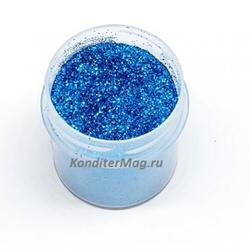 Блестки декоративные Светло-синие 10 г. 1