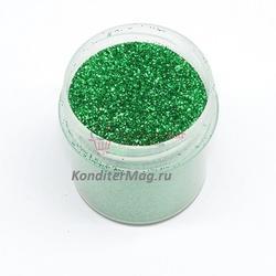 Блестки декоративные Зеленые 10 г. 1