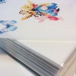 Бумага вафельная тонкая 25 листов KopyForm 1
